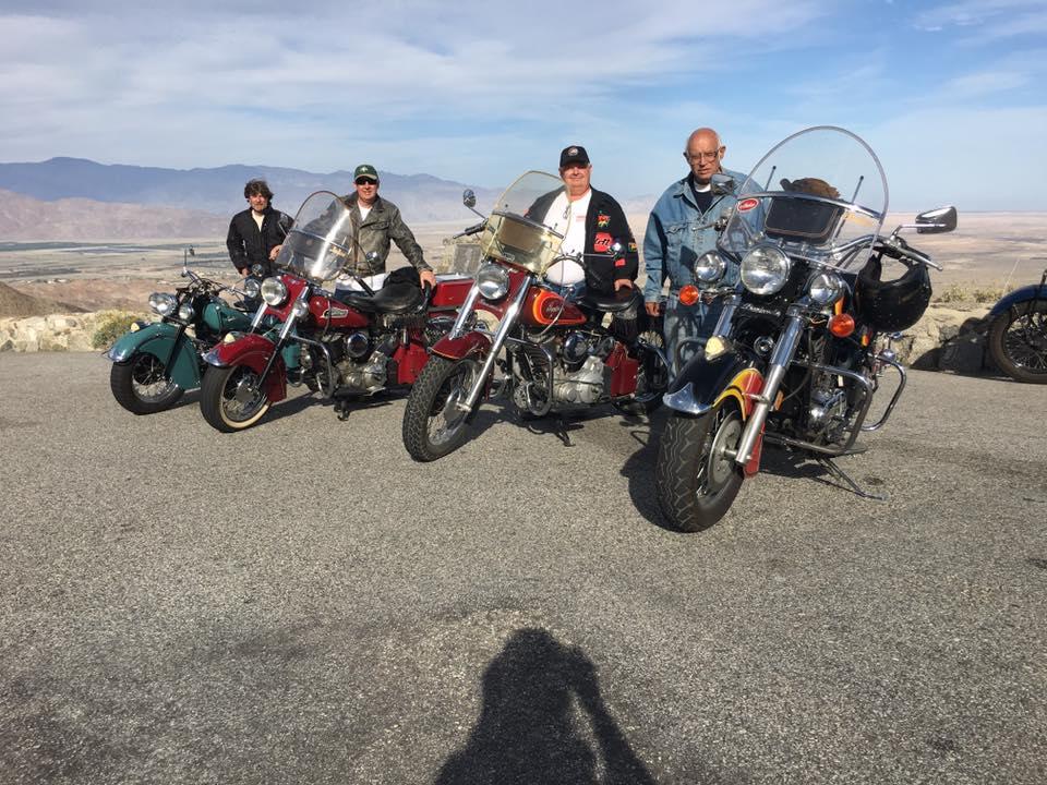 March 4 - Ride to up to Julian through Anza-Borrego Desert. Photo Credit: Gary Stark