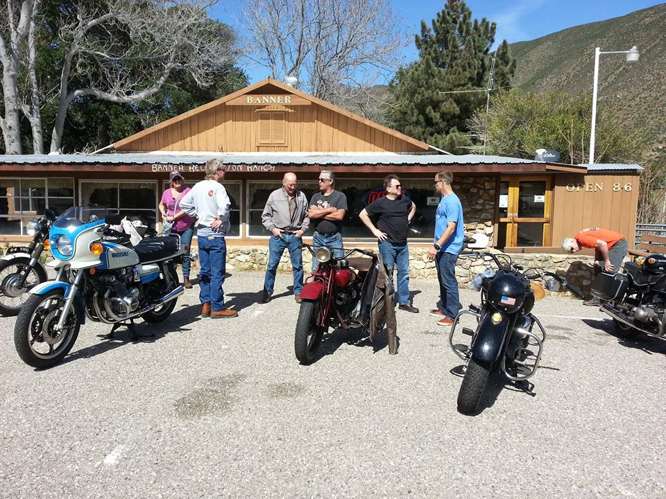 March 4 - First stop of the day outside Julian, Calif.