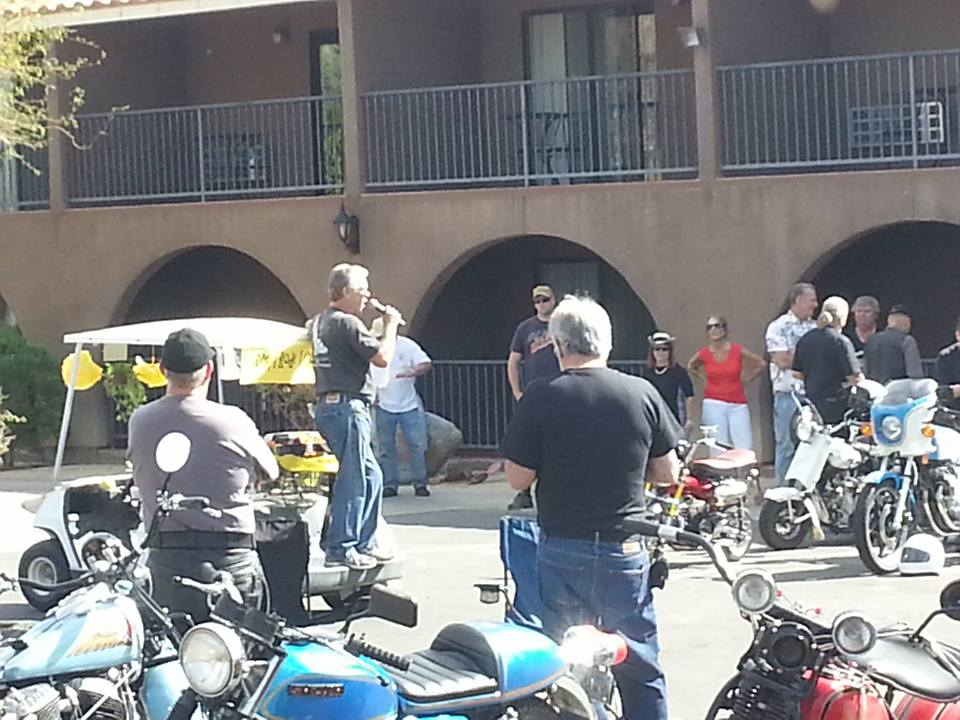 March 4 - Riders meeting - mapping ride and encouraging safety