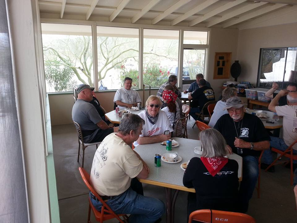 March 5 - Lunch stop at Canebrake Community Center.