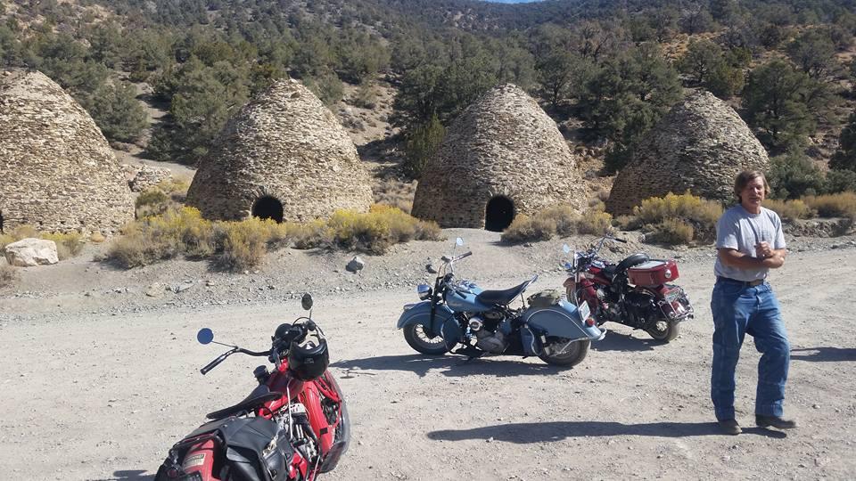 Gathering at Wildrose Charcoal Kilns