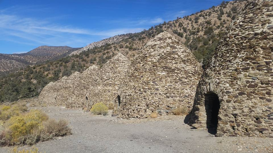 The Wildrose Charcoal Kilns were completed in 1877 by the Modock Consolidated Mining Company to provide a source of fuel suitable for use in two smelters adjacent to their group of lead-silver mines in the Argus Range west of Panamint Valley, about 25 miles distant from the kilns.