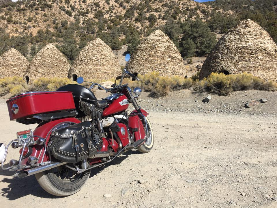 Big Red at Wildrose Charcoal Kilns.