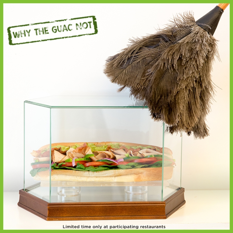 Mint condition Turkey Bacon Guacamole sub #WhyTheGuacNot