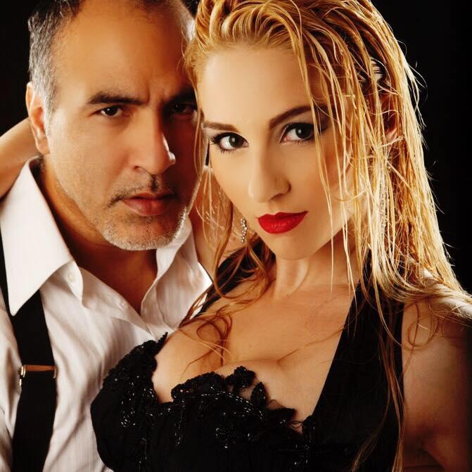"""Claudio Villagra and Helena Fernandez """"Los Villagra"""""""