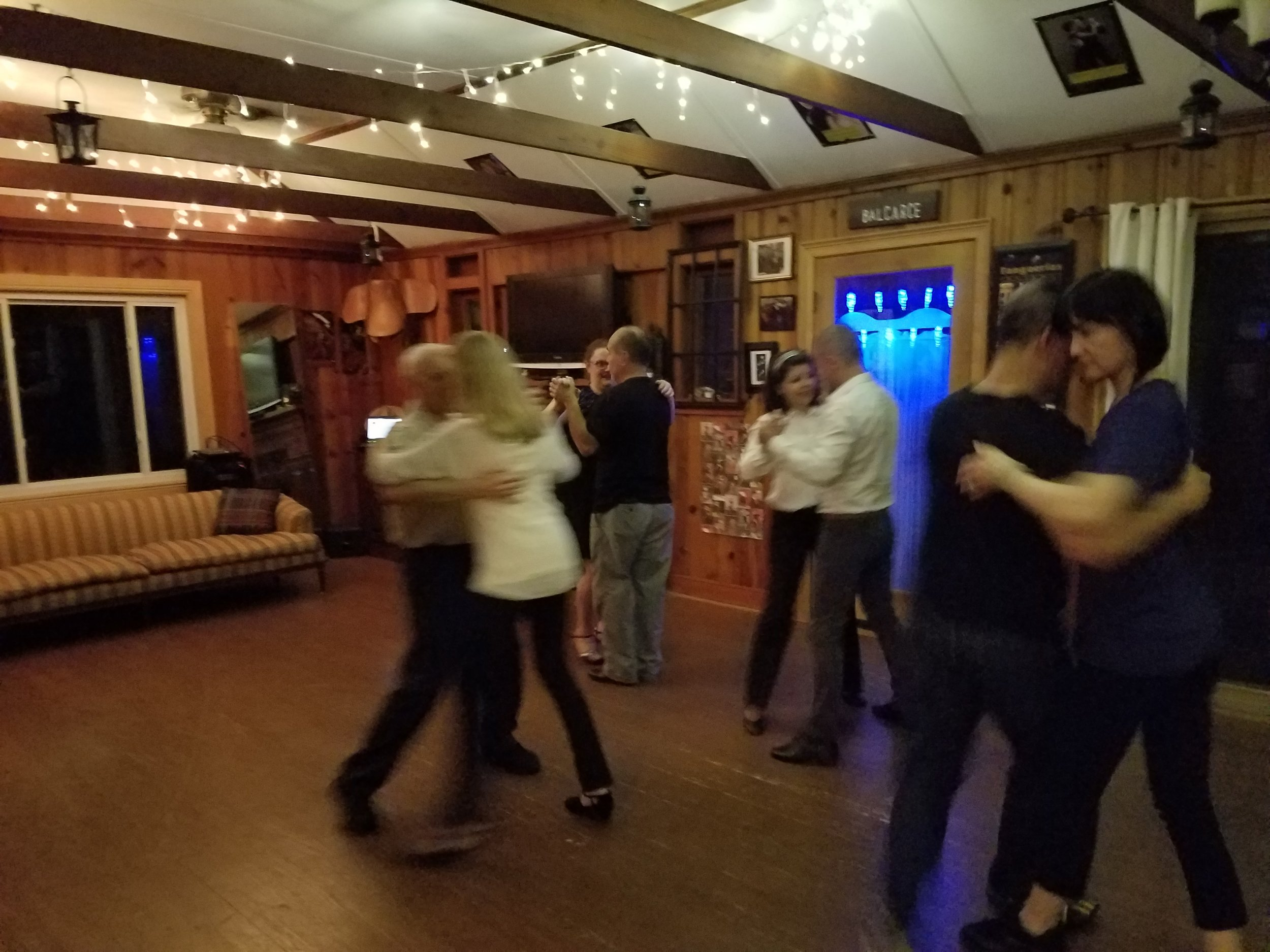 Milonga de Los Amigos, every Wednesday.
