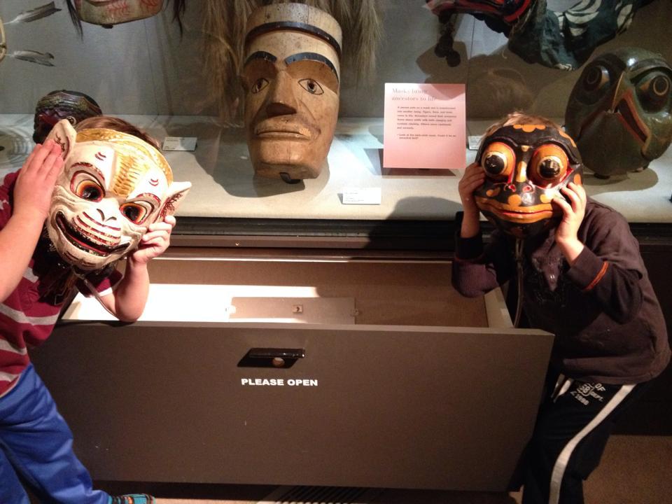 Recent PreK visit to The Burke Museum