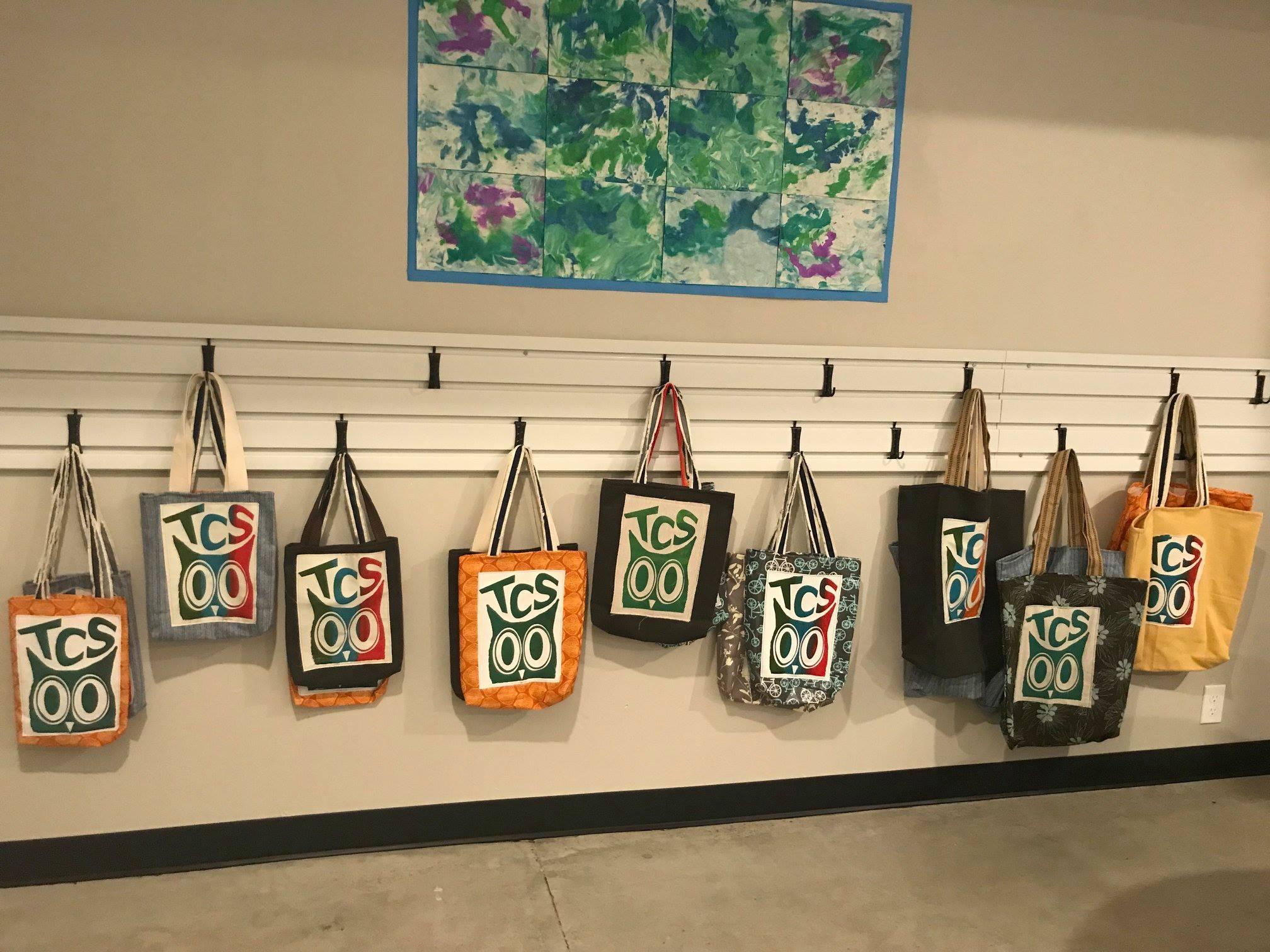 Handmade TCS bags by Teacher Jen