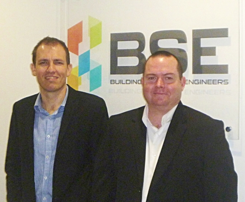 Bruce Skipp, Buildings & Infrastructure Manager, Tim O'Regan, Interiors & Refurbishment Manager