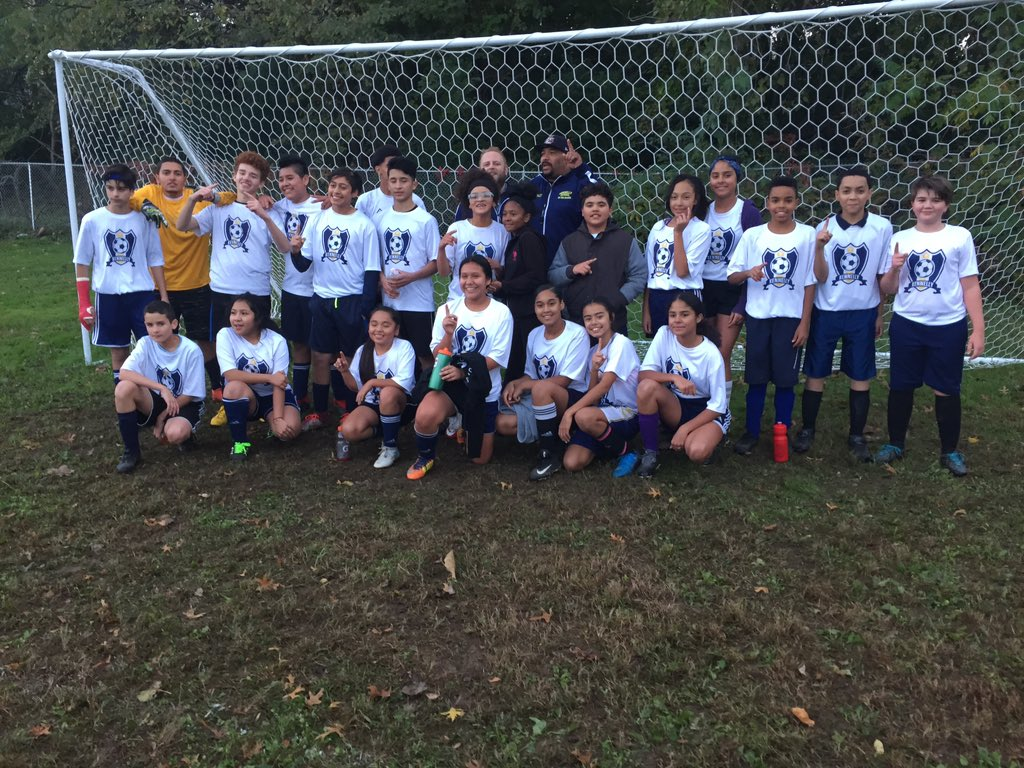 """2018 Mini-grant Recipient:tim cheever - E.B. Kennelly School62+ middle school student athletesMoney was used to purchase equipment for soccer, basketball, baseball, and cross-country programs. These after-school, extended day sports programs help students live out the school motto - """"Bee the change""""."""