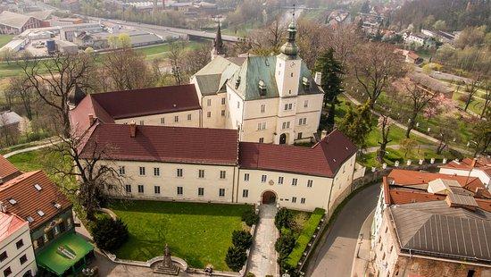 Hukvaldy Castle at Frydek-Mistek, Moravia, Czech Republic