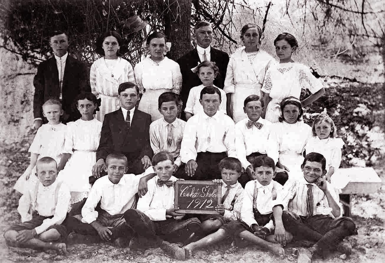 1912 Czech School at Granger, Texas