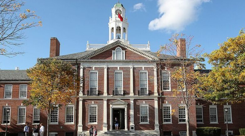 Phillips-Exeter's main campus building