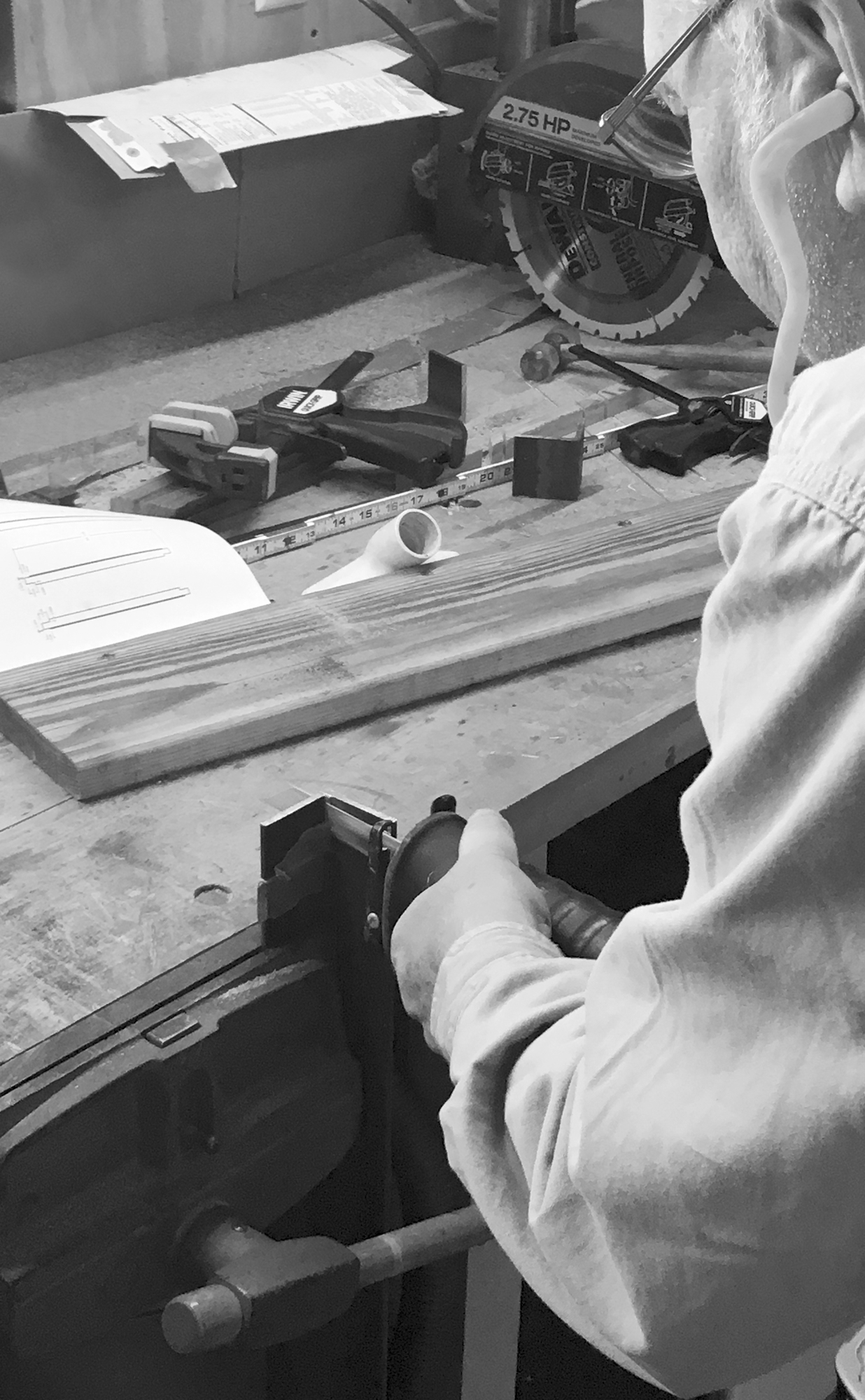 Precision corner cuts. Fine tuned cuts with a reciprocal saw.