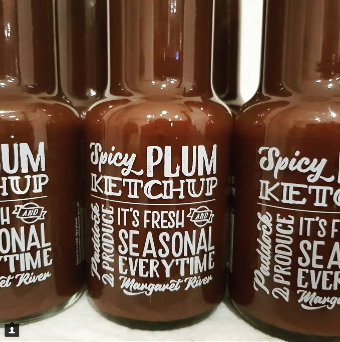 Paddock 2 Produce  Spicy Plum Ketchup