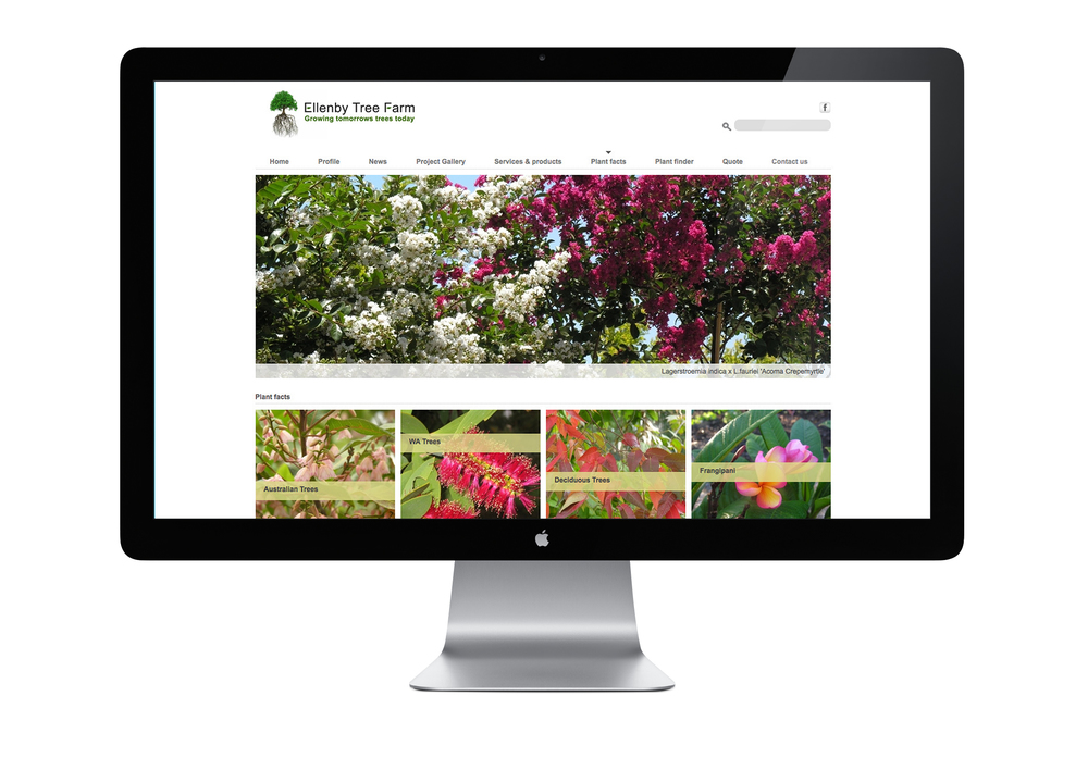 Ellenby tree farm website
