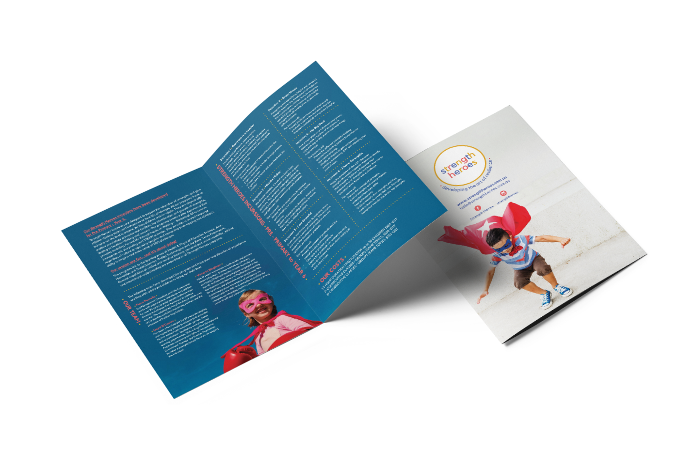 strength heroes nomad creative brochure perth