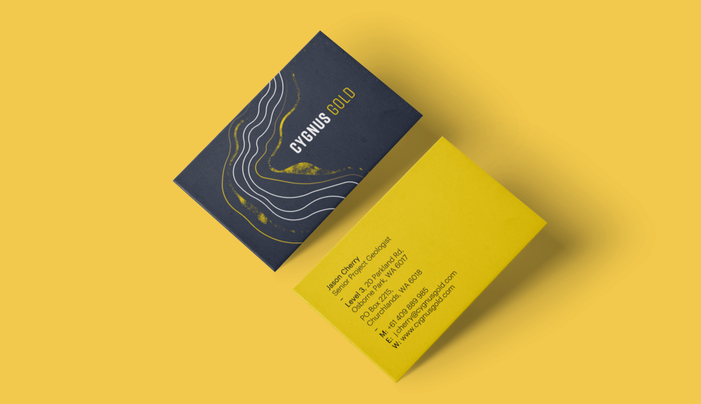 cygnus-gold-business-card-nomad-creative-perth