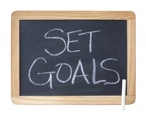 Set goals...work toward them...achieve your dreams.