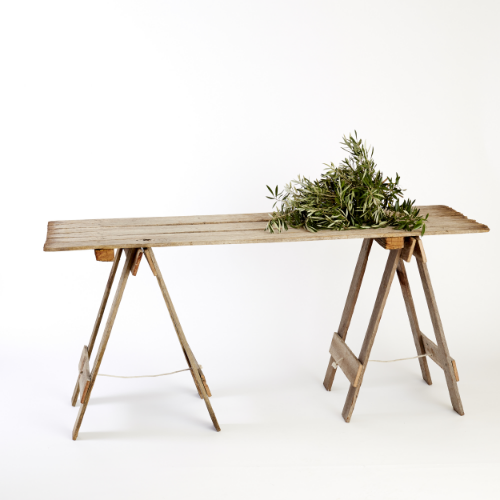 Reclaimed Timber Trestle Table
