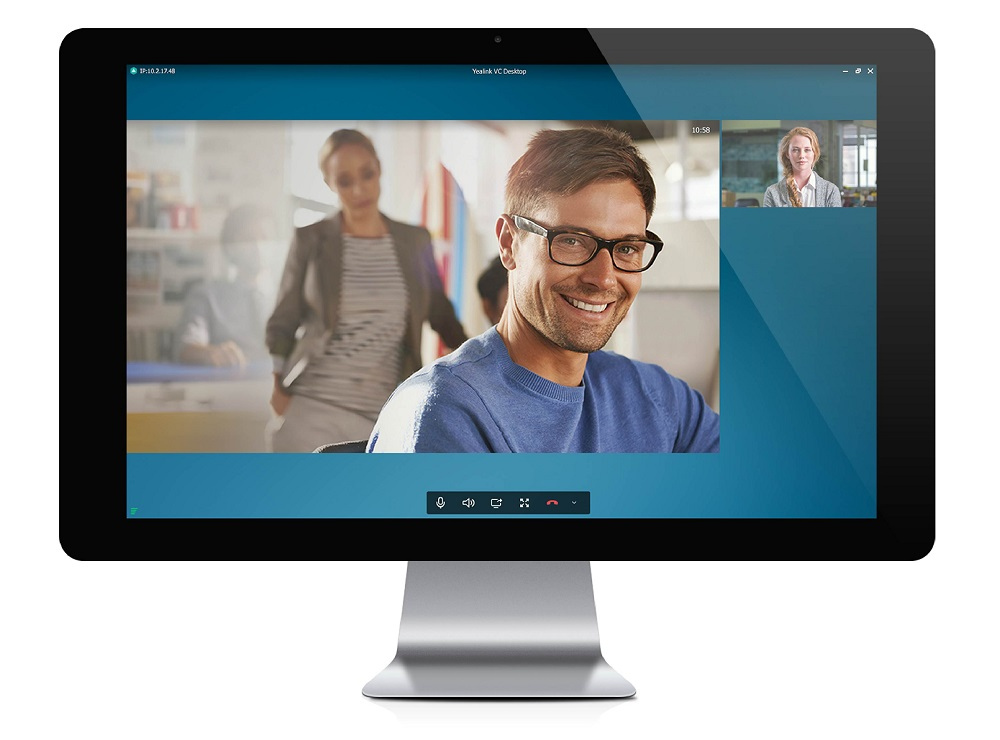 Yealink VC Desktop and Mobile - Extends video conferencing to mobile staff so that your entire team can be included, wherever they are when your meeting starts. Supports Windows, Mac as well as iOS and Android smartphones and tablets.