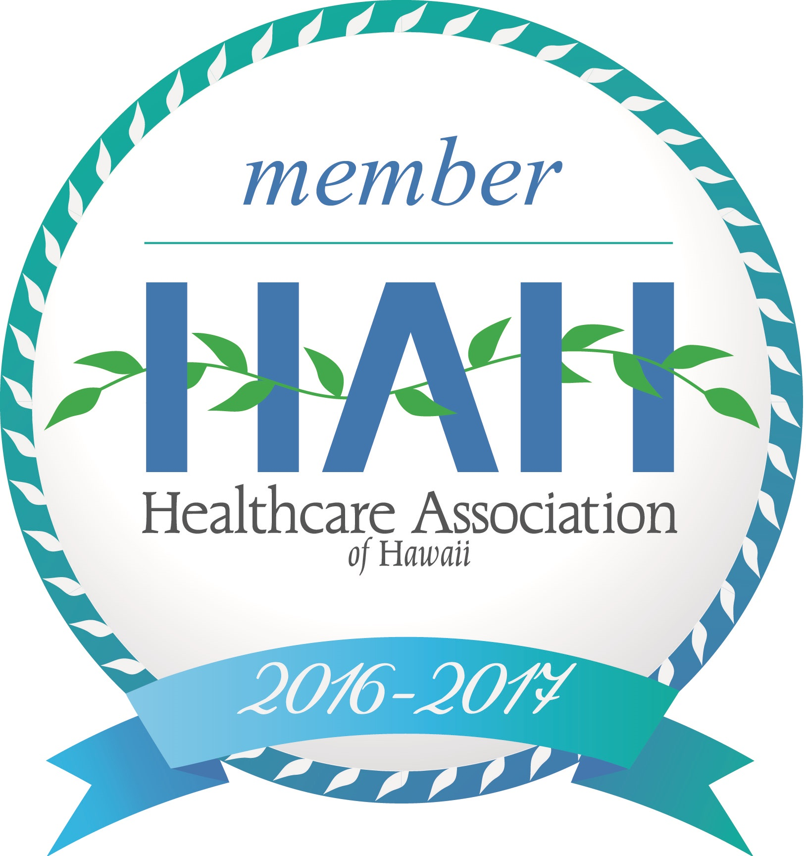 member of the Healthcare Association of Hawaii for 2016-17