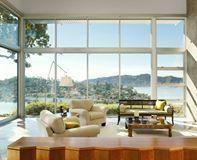 Wood and fiberglass windows