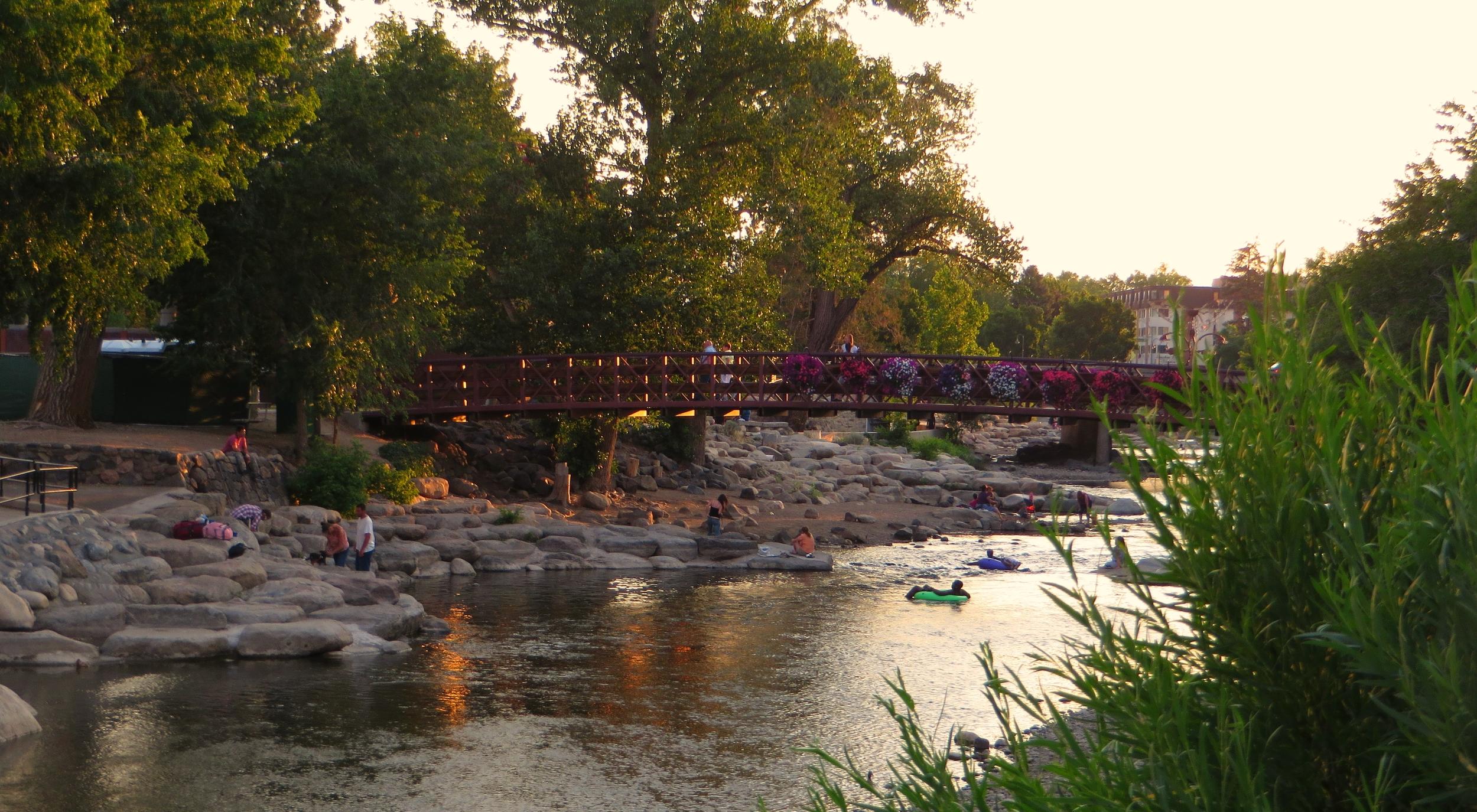 Truckee River, Wingfield Park, Reno, Nevada