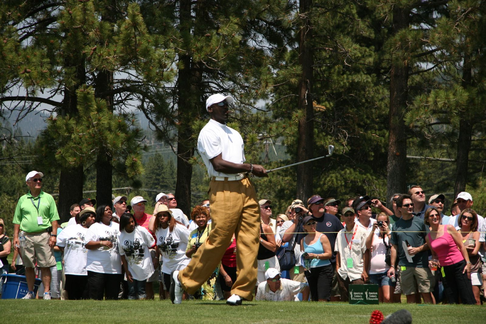 American Century Celebrity Golf Championship Tournament, Lake Tahoe, Nevada