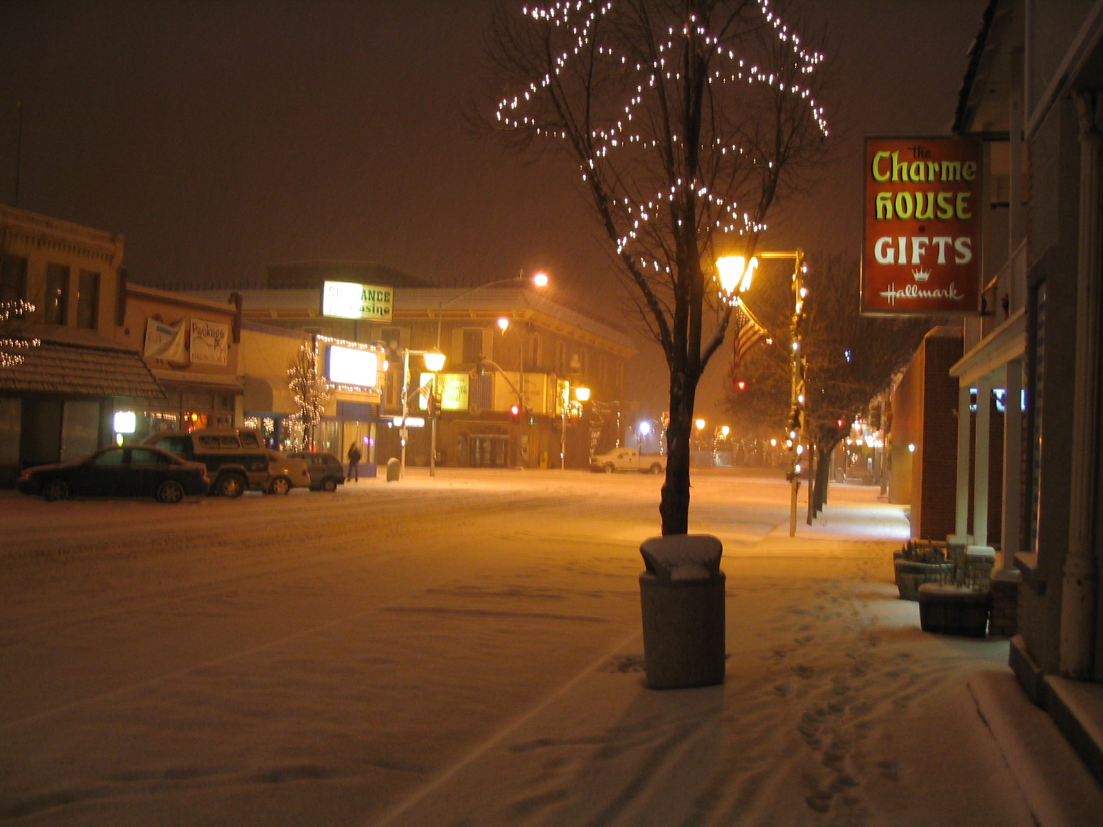 Snowy Winnemucca, Nevada