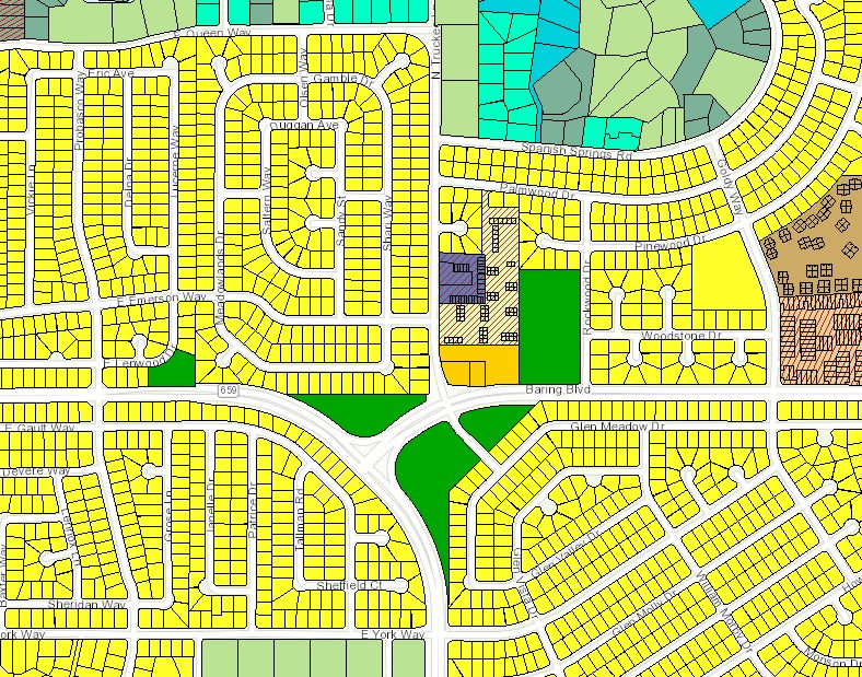 city of sparks zoning map