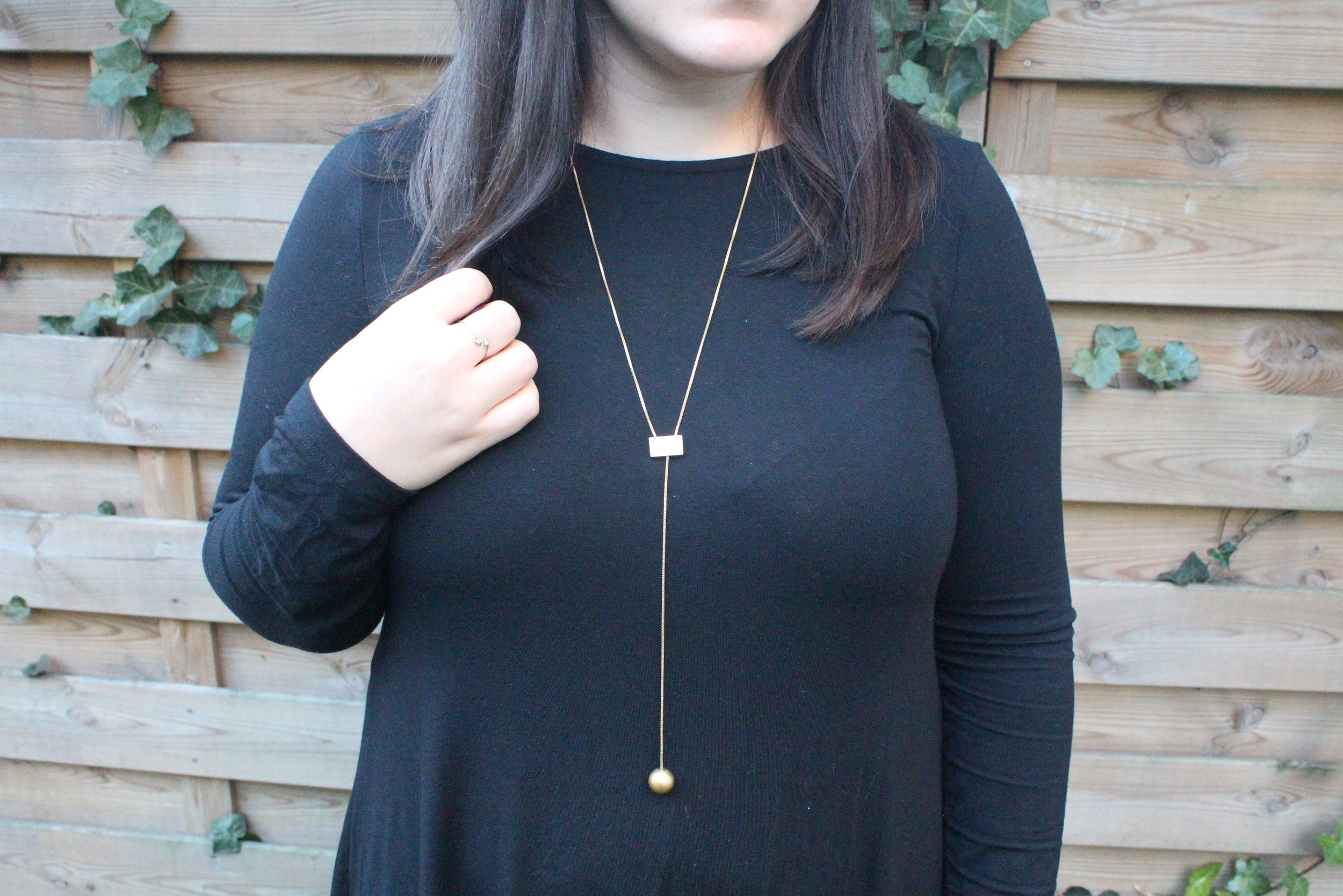 """Madewell """"balldrop necklace"""" - $35.00 (currently sold out 😕)"""