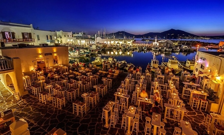 Paros island for an unforgettable end to your day on your luxury yacht