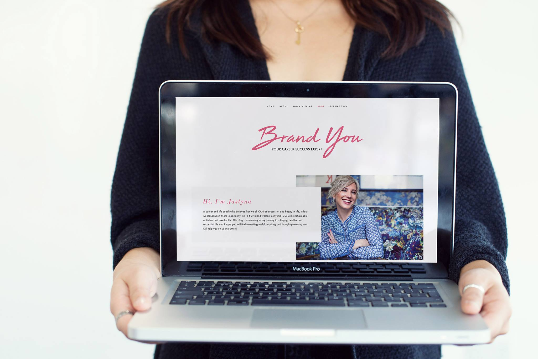 designing website for personal brand
