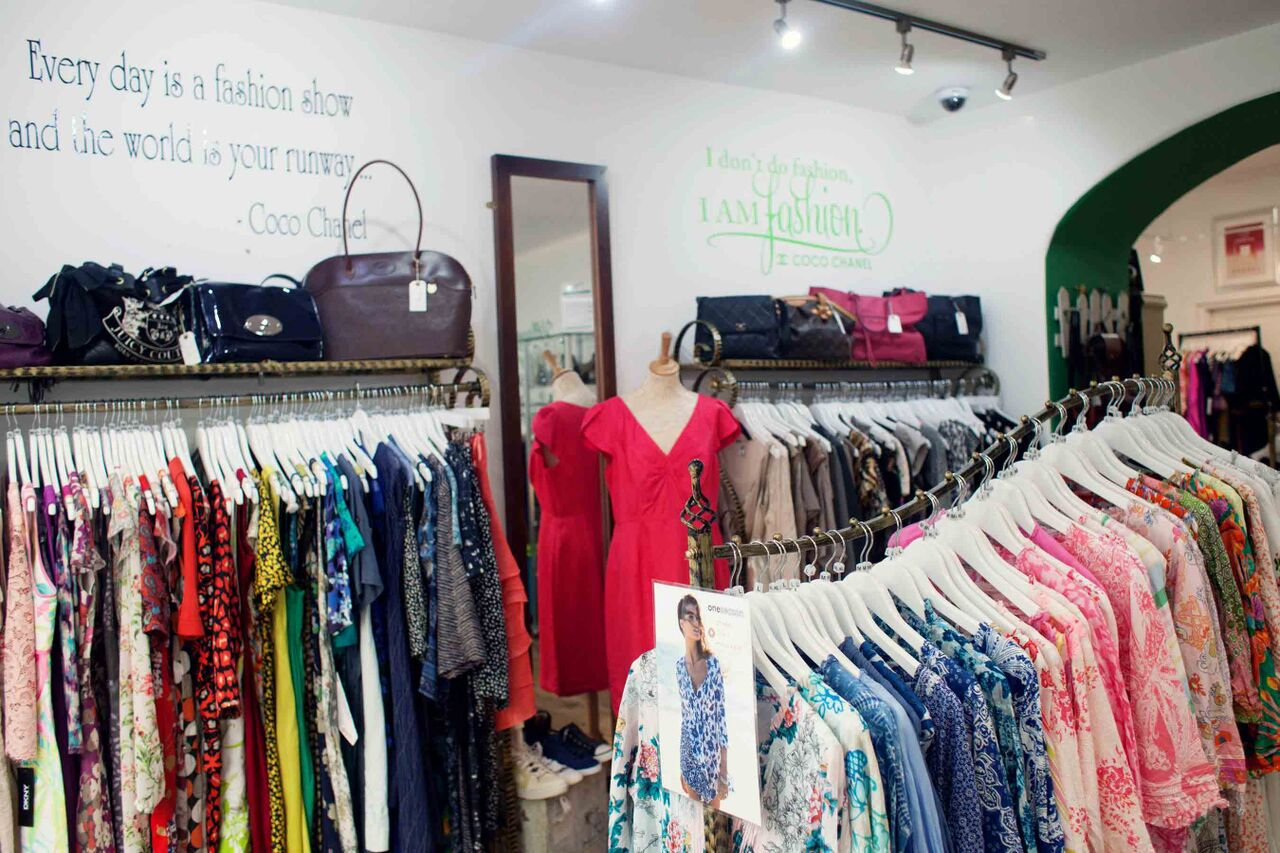 Professional Brand Photography in Bristol for Village Green Boutique