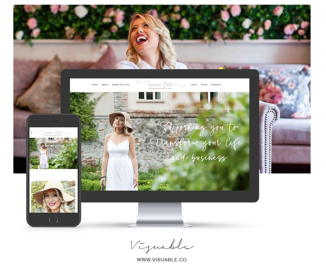 website-squarespace-design-personal-brand