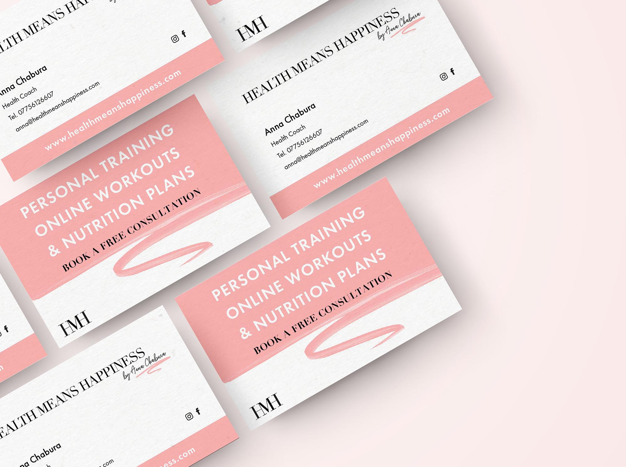 business card designed by Visuable