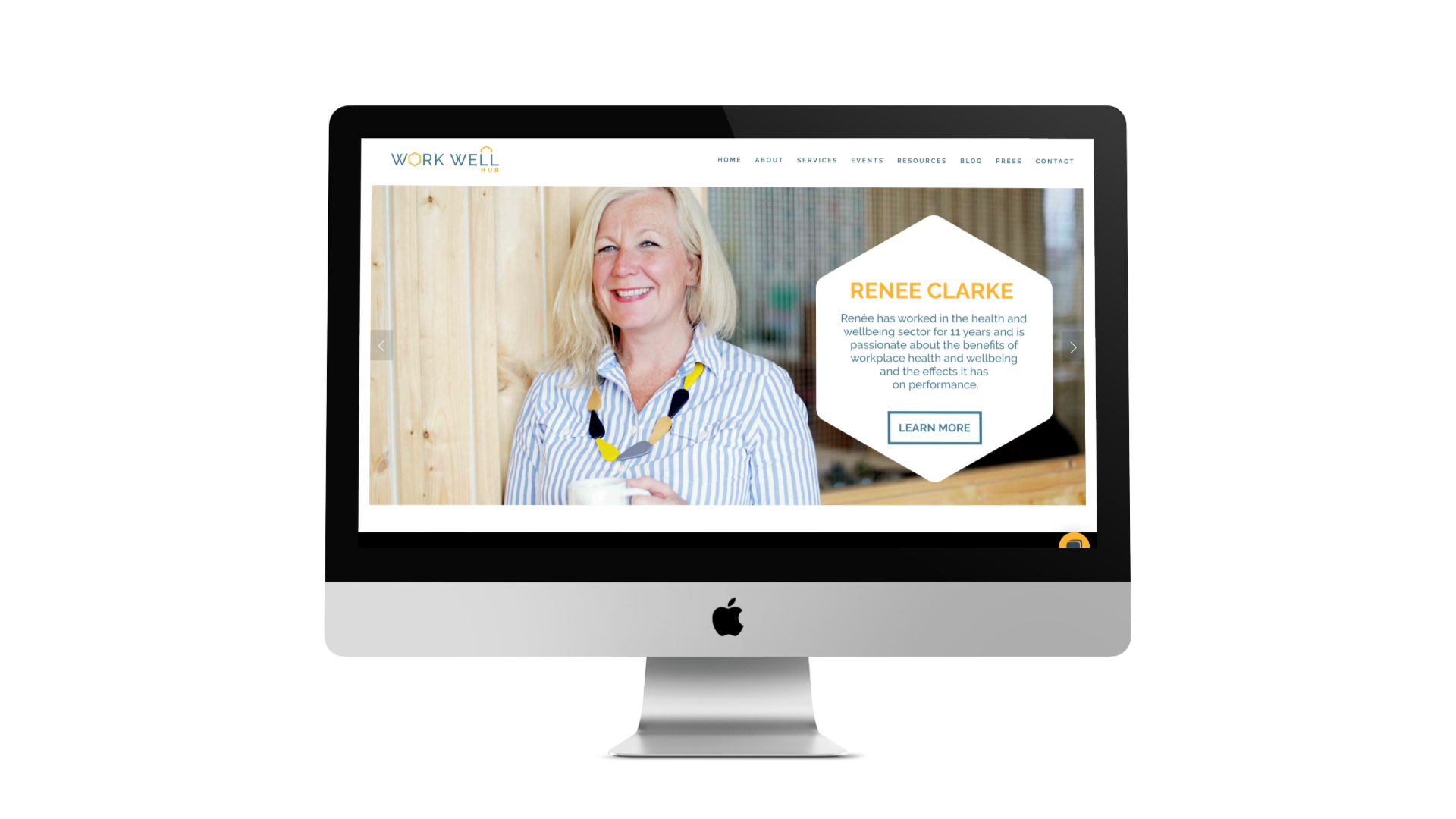 Web Design in Bristol for Sarah Cook by Visuable