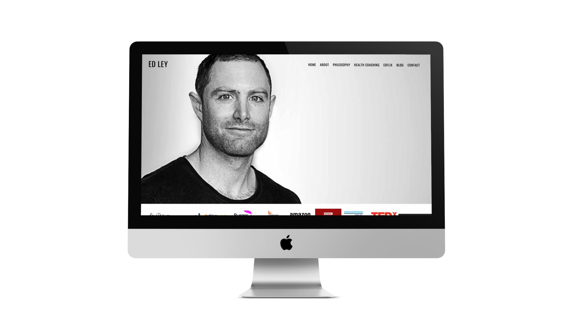 Website Design for Ed Ley in Bristol