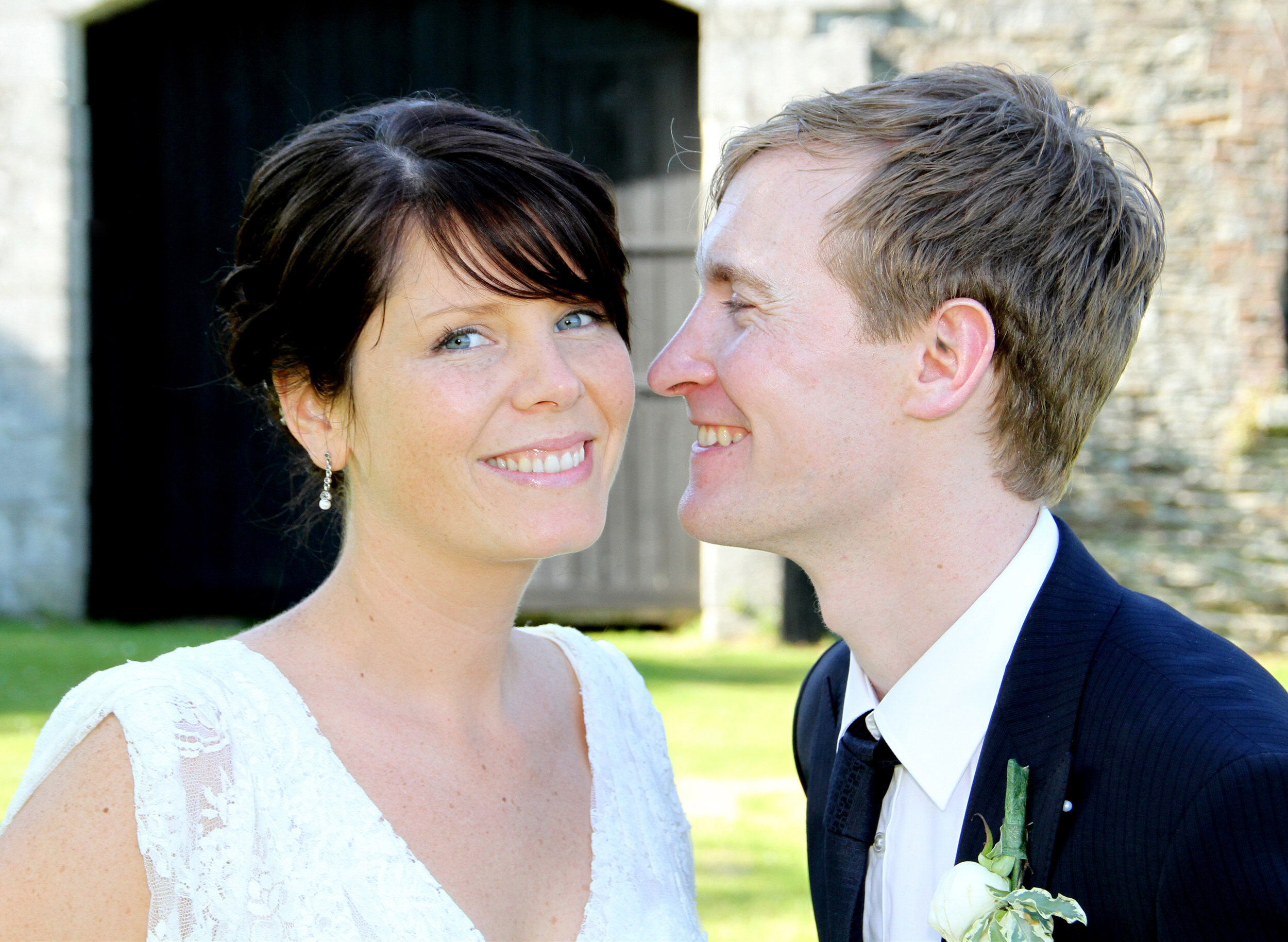 Ciaran & Jane website photo Ballybeg house wedding venue wicklow