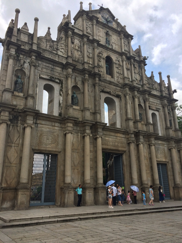 Ruins of Saint Paul in Macau