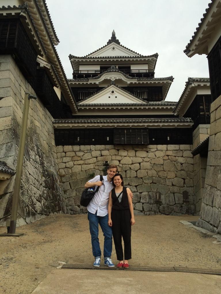 Found a cute ninja in Matsuyama Castle!