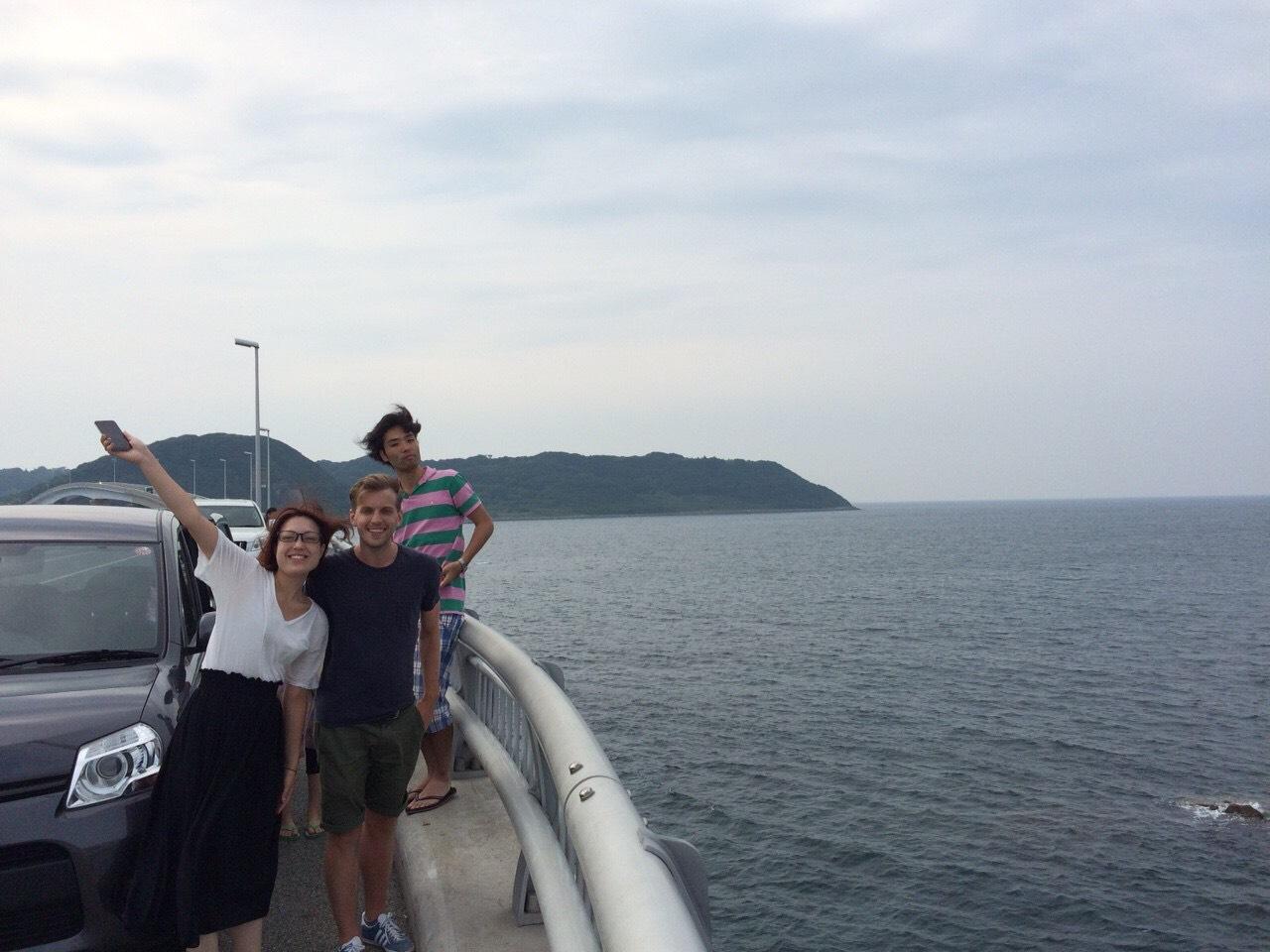 On our way back to Hiroshima from Tsunoshima