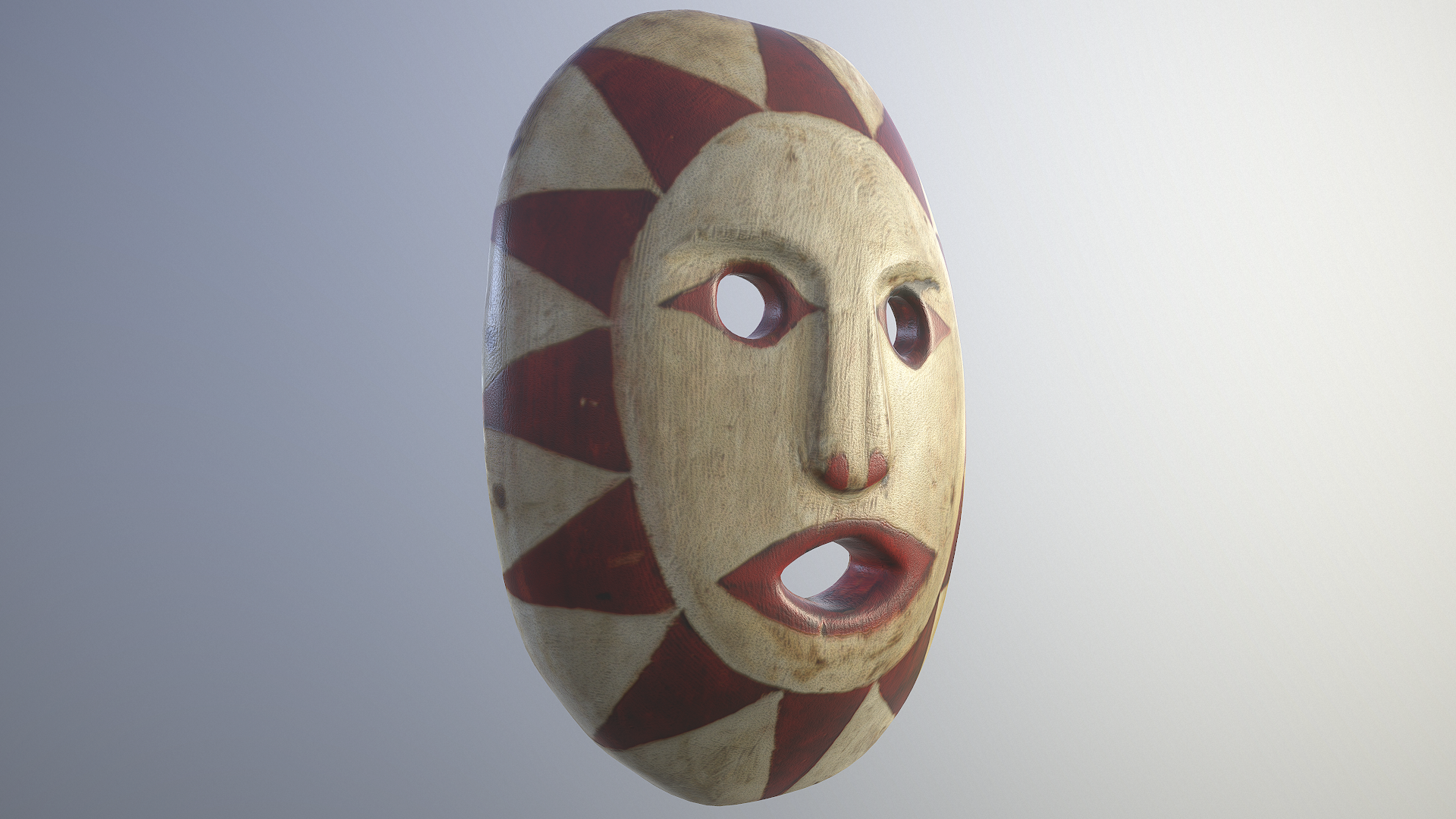 Mask by August Jack Khatsalano - 3D Scanning Result