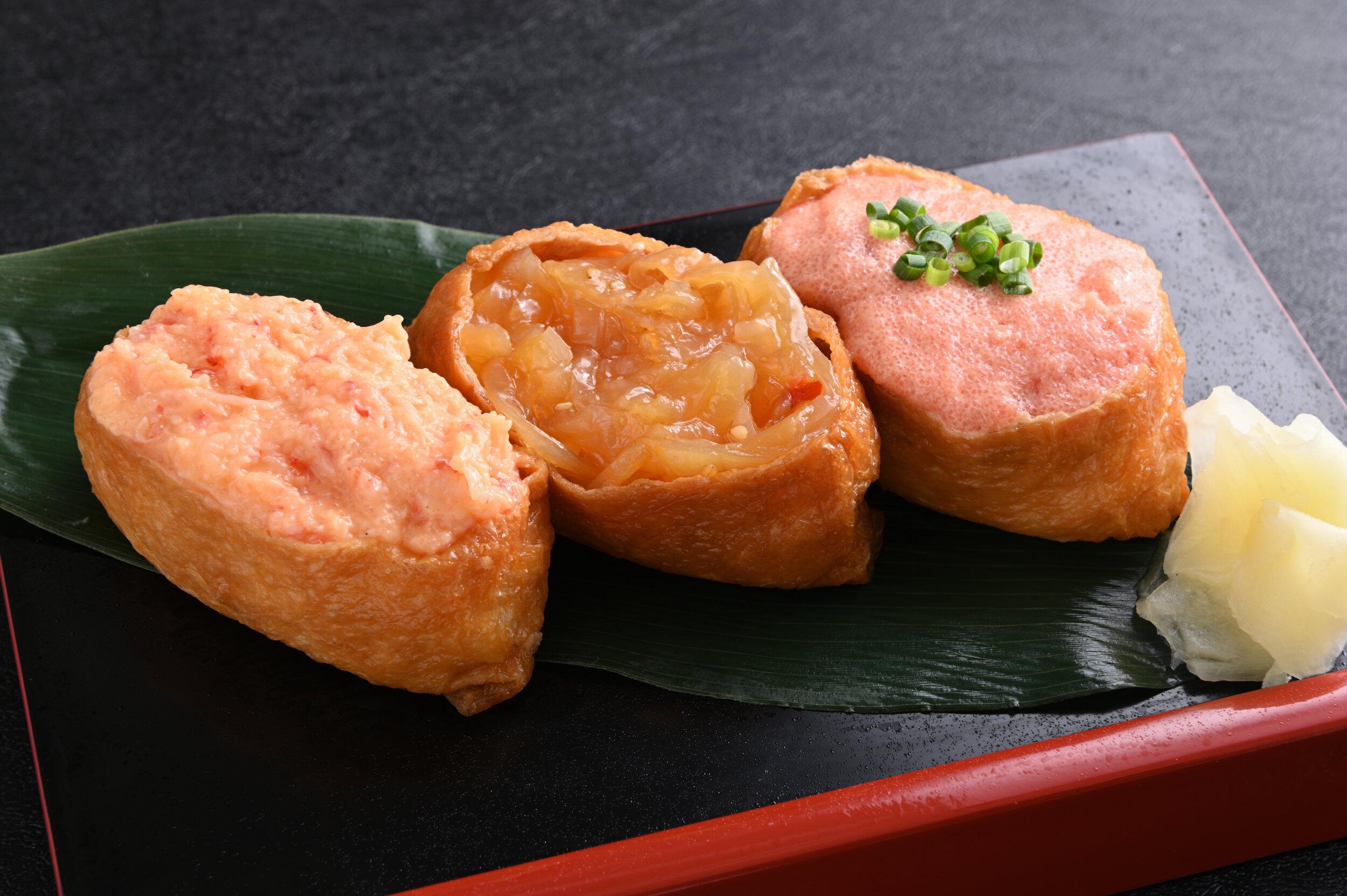 3 Kind Inari Sushi $8.90