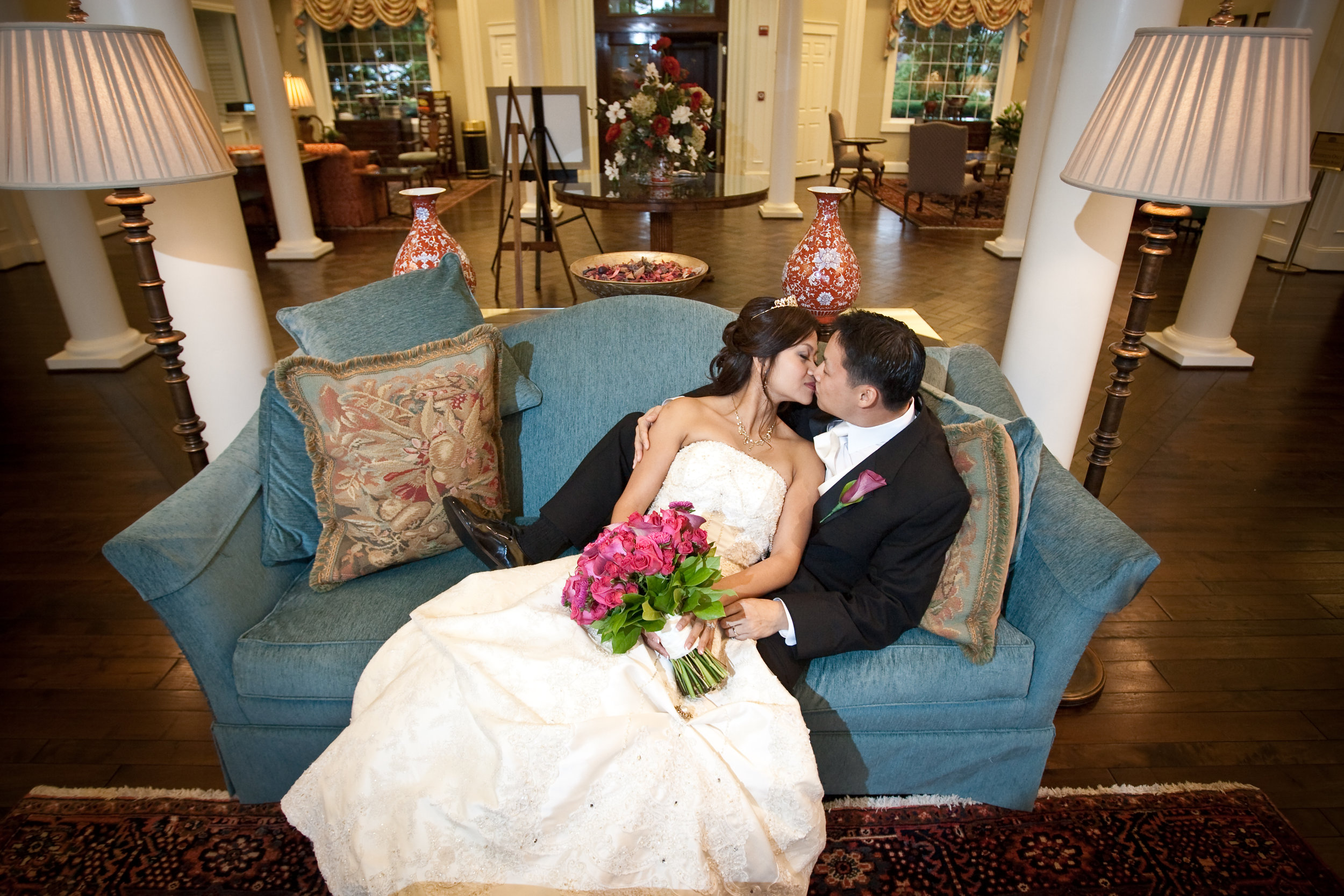 - Photos by E Jung The Total Wedding Service