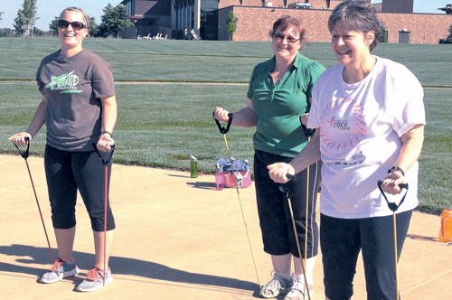 Providing the right resources can help people reach their health and fitness goals. Photo Courtesy of Evan Daniels