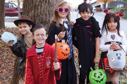 Your community's Halloween can be about more than just tricks and treats. Photo courtesy of Gainesville Parks and Recreation