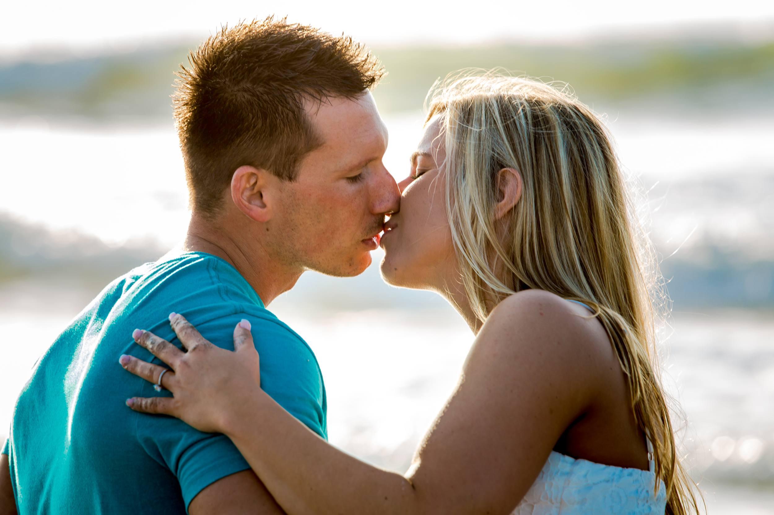 Lori Wilson Park Cocoa Beach Sunrise Engagement Session Mint Green dress- Bri 15.jpg