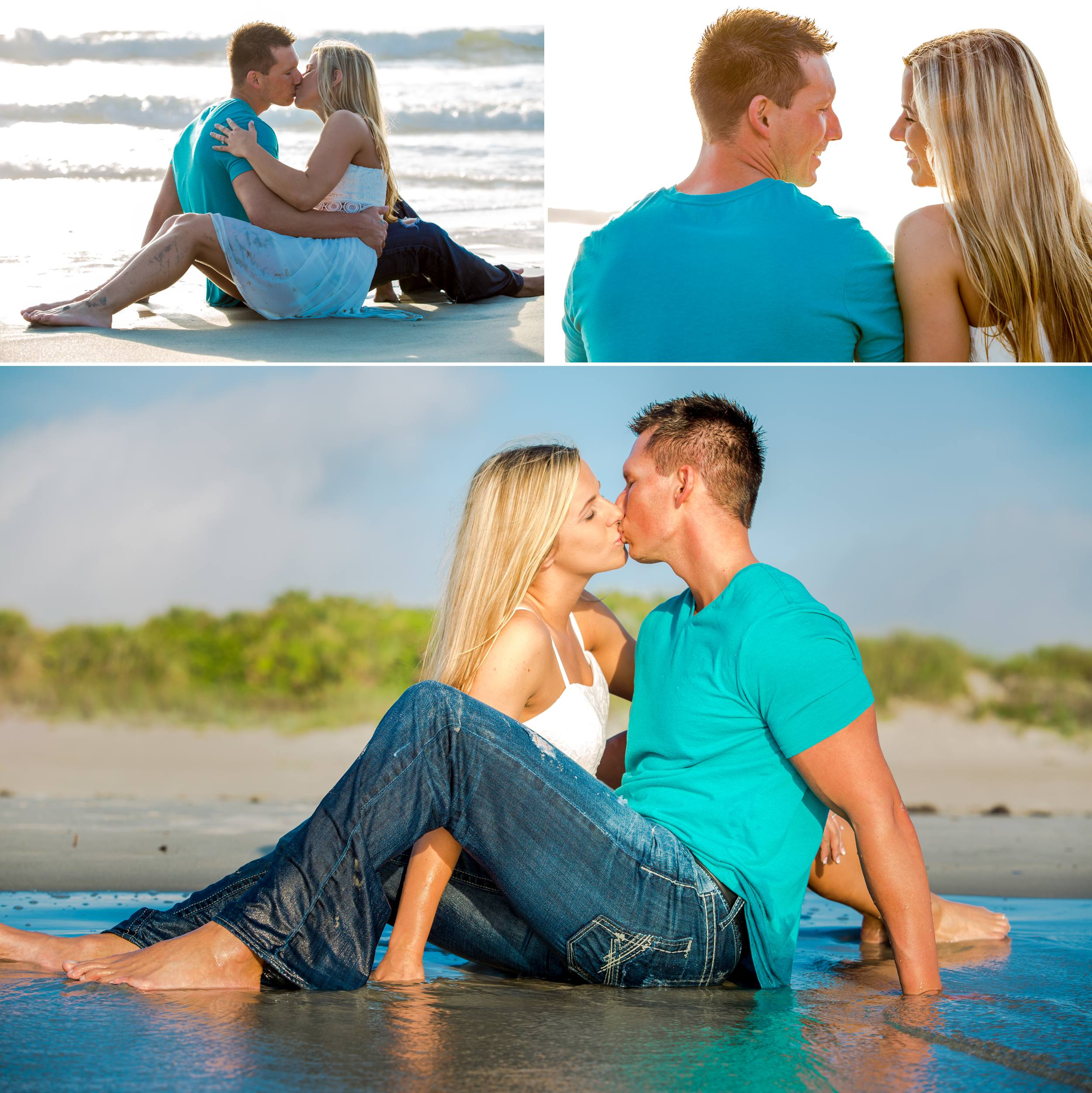 Lori Wilson Park Cocoa Beach Sunrise Engagement Session Mint Green dress- Bri 14.jpg